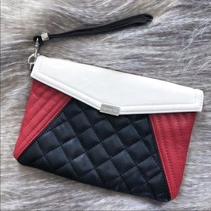Express | Color Block Stick Wristlet Clutch